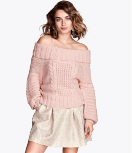 Trui H&M - Off-the-shoulder