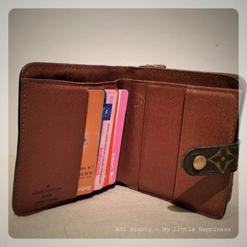 Designer vintage LV wallet
