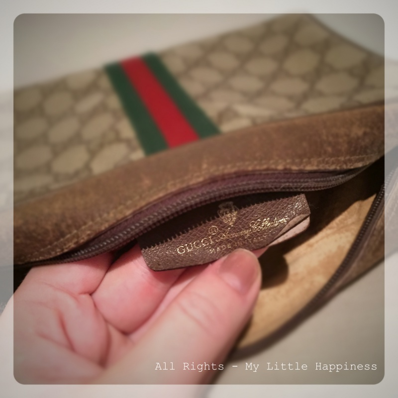 Vintage Designer bag Gucci label