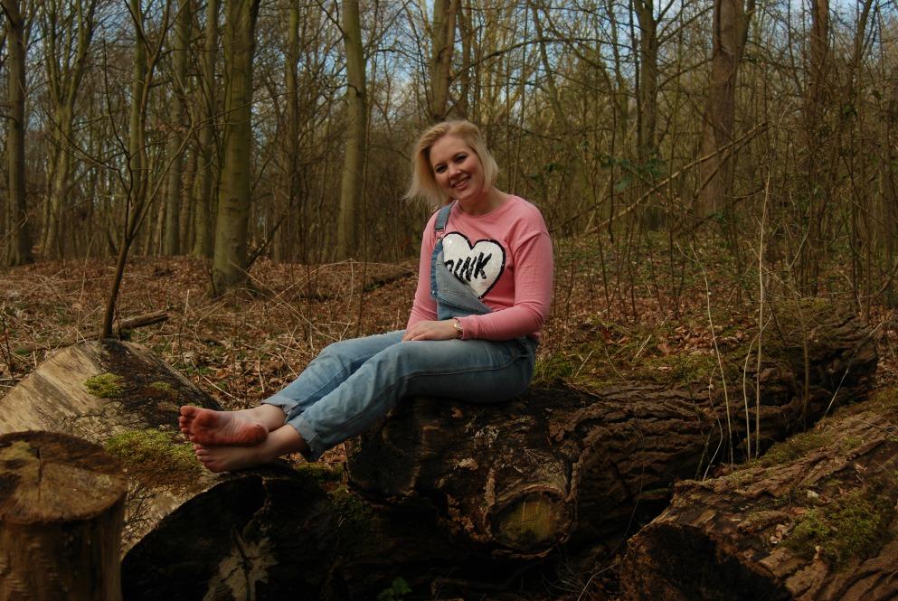 Tuinbroek in de natuur