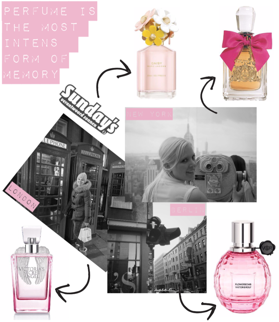 parfum collage