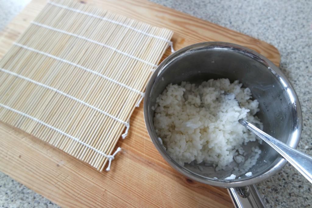 voorbereiding sushi