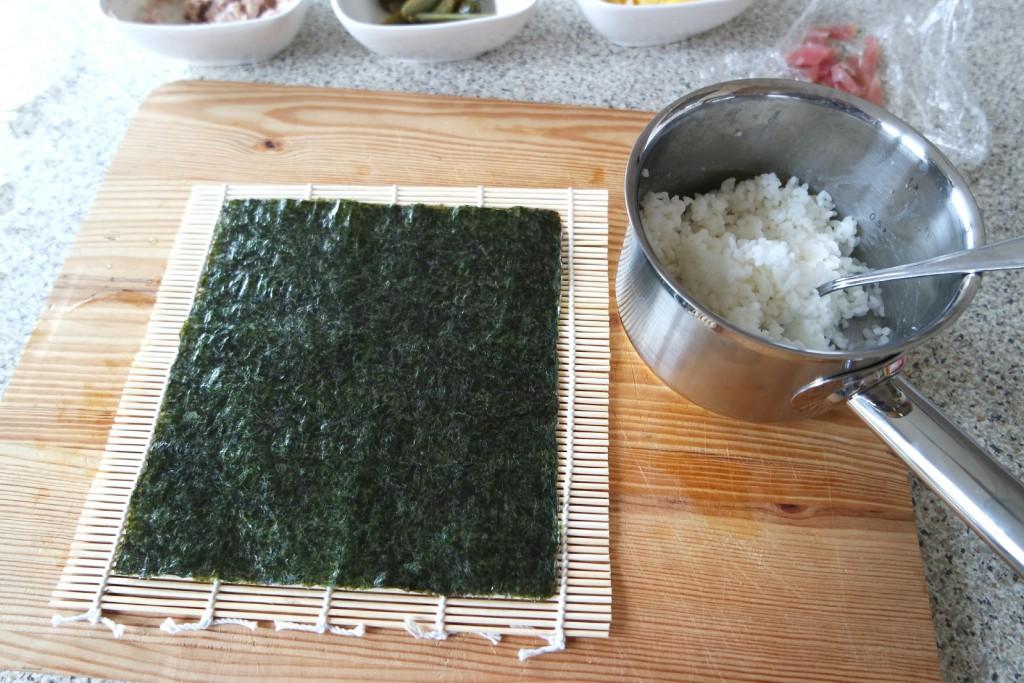 Sushi bladen