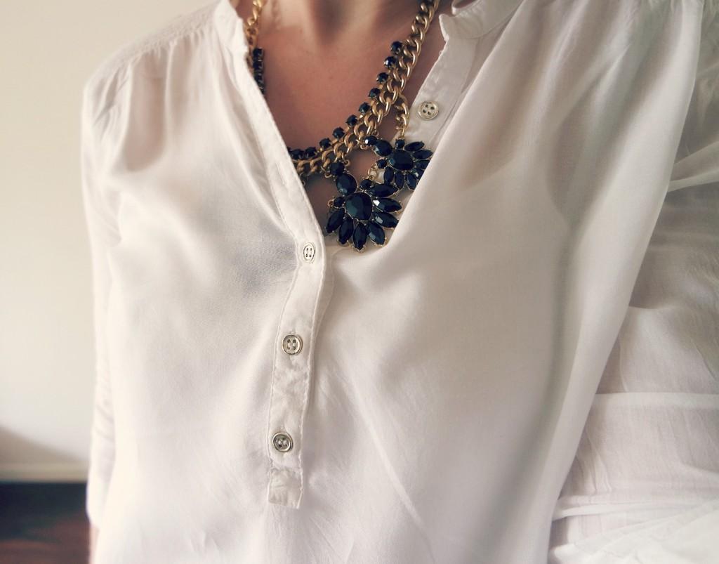 Ketting en blouse primark
