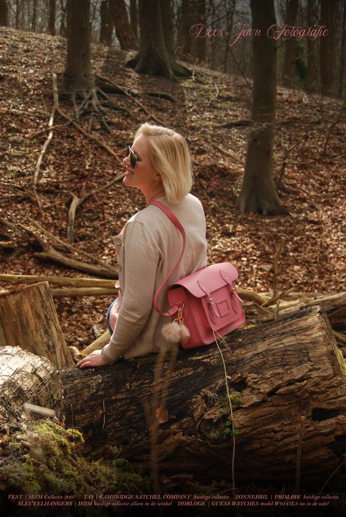 Outfit in het bos