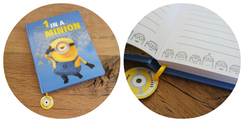 Shoplog Londen - Notitieboek minion