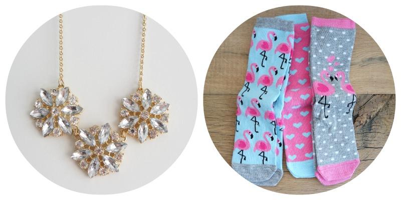 Shoplog Londen - Ketting primark en flamingo sokken
