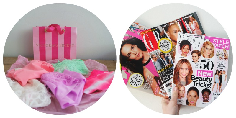 Shoplog Londen - Victoria Secret en magazines