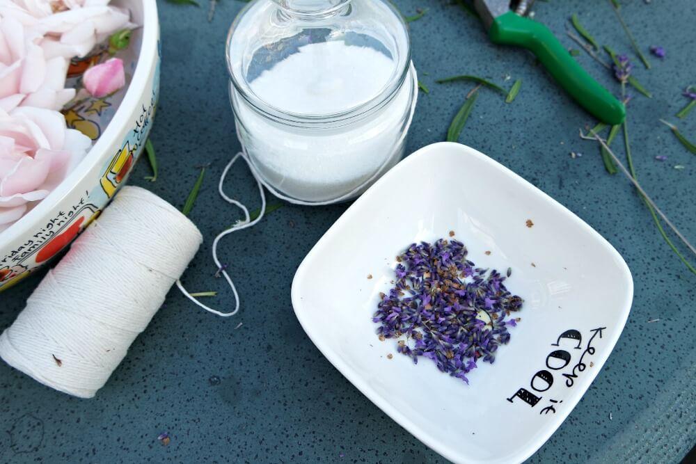 Lavendelsuiker