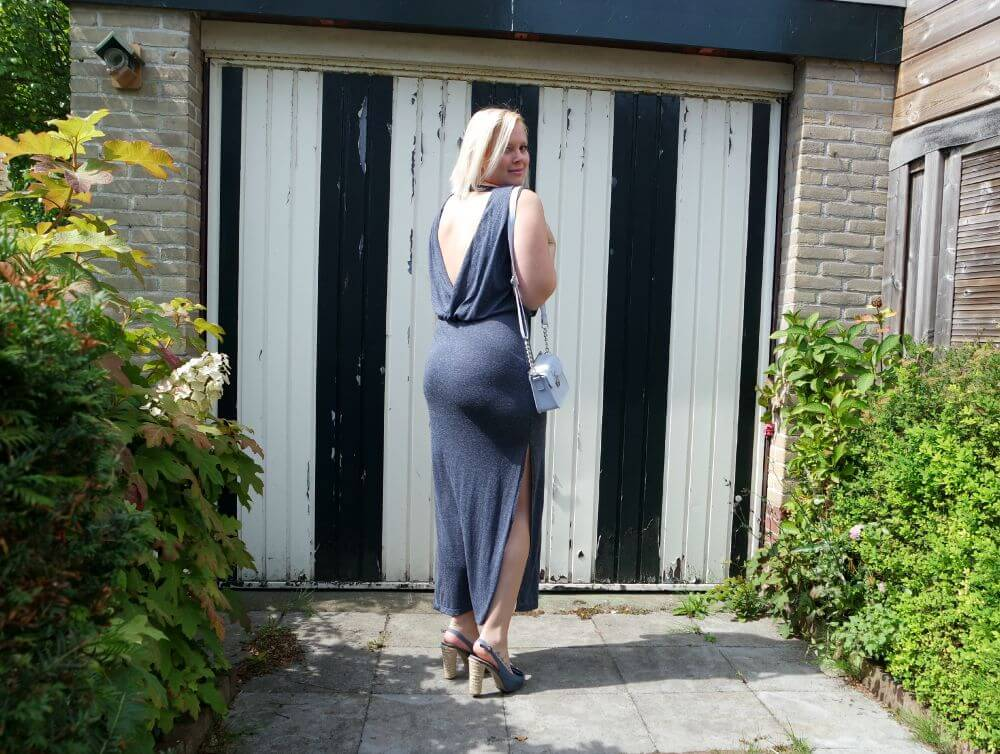 Lange jurk Only