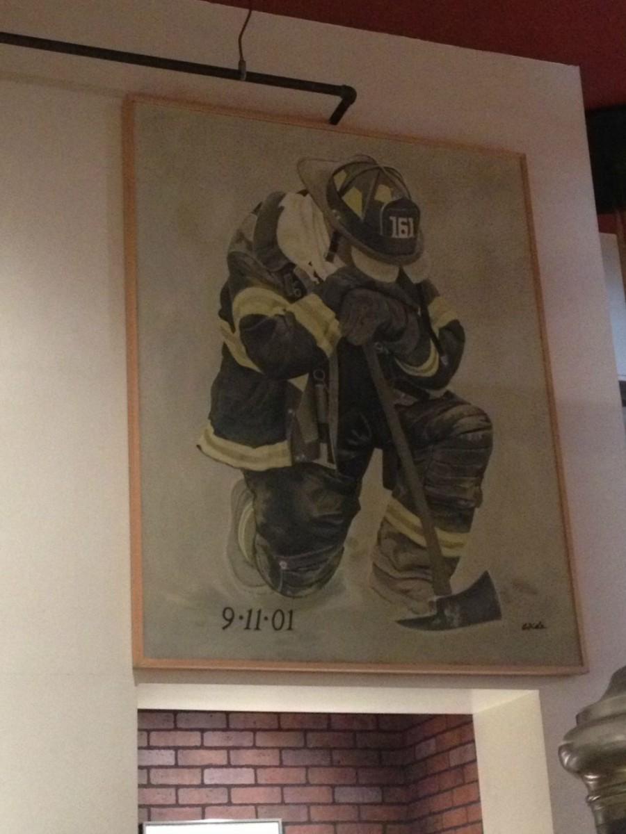 Schilderij 9-11