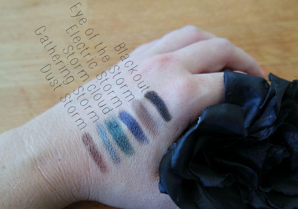 Sleek I-Divine Storm Palet