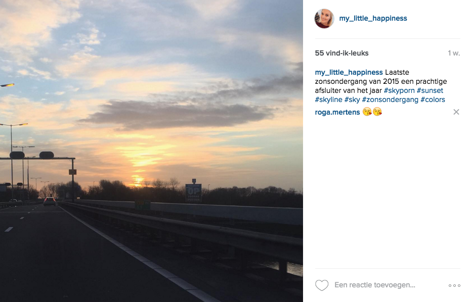 Instagram tag 2016