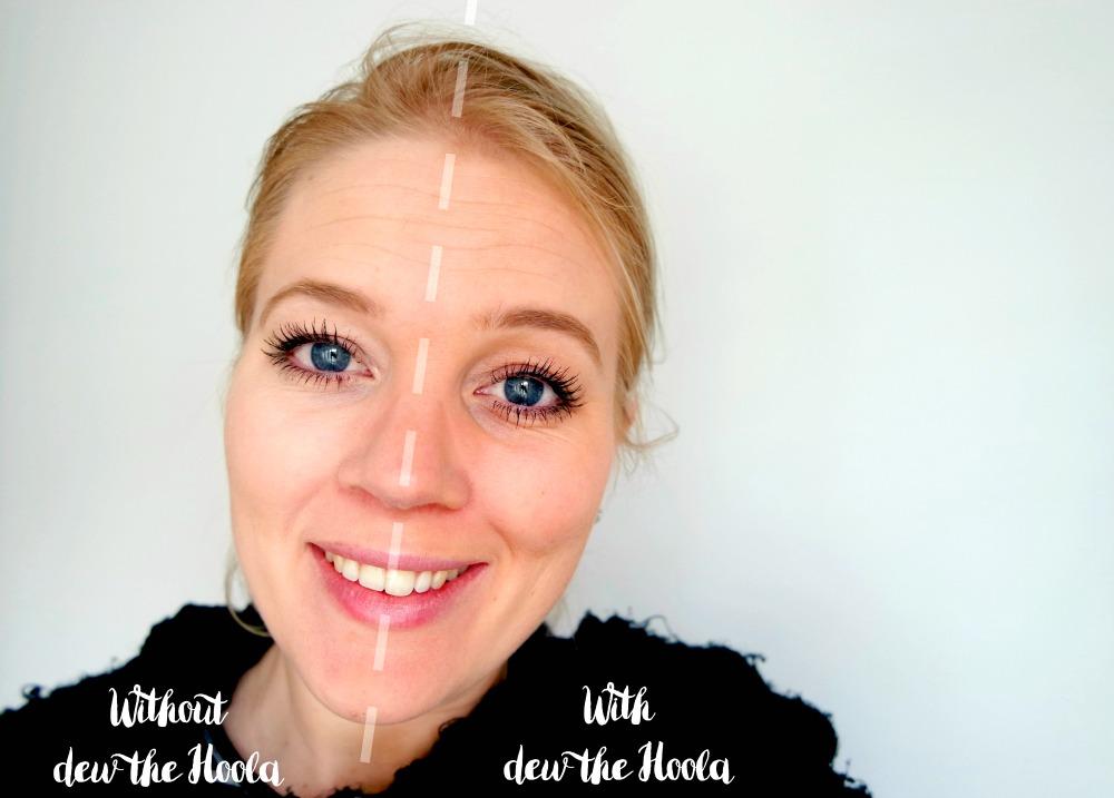 Benefit dew the Hoola look