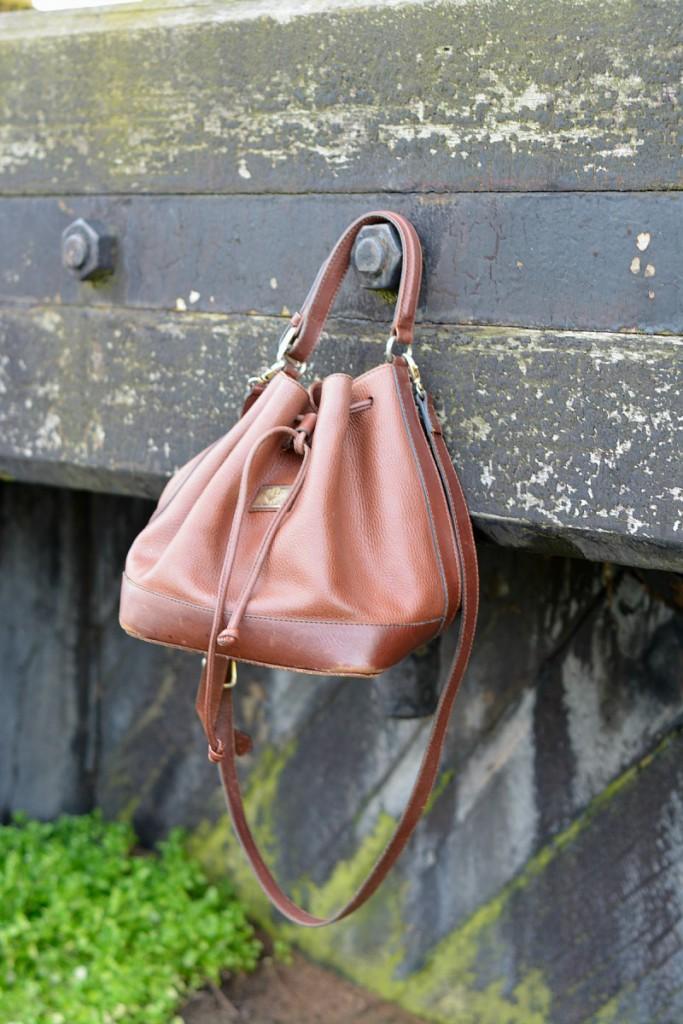Vintage tas | outfit post