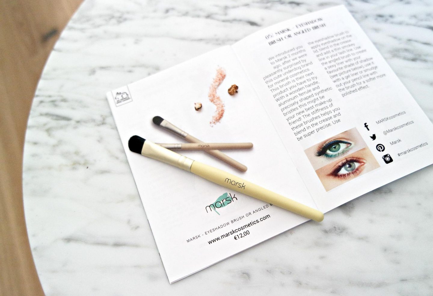 Marsk eyeshadow brush