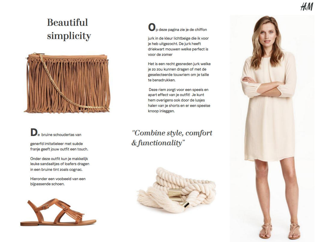 H&M Personal Stylist | Online | Lookbook 3
