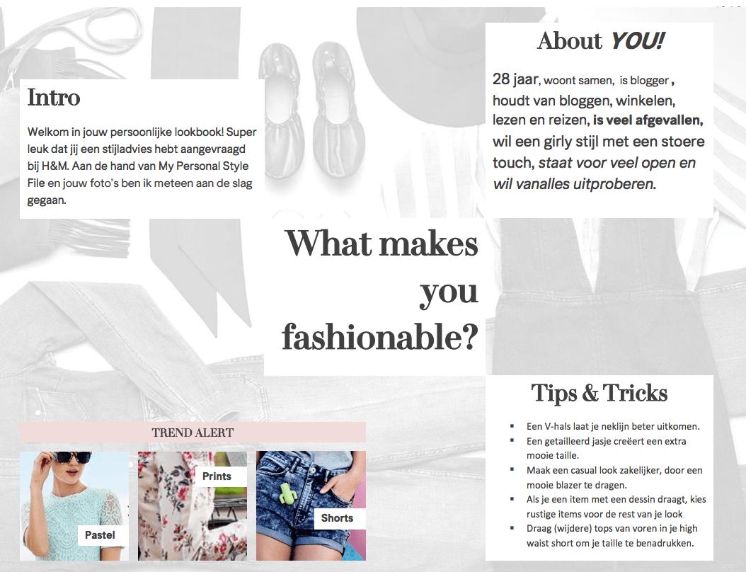 H&M Personal Stylist | Online | Lookbook 4