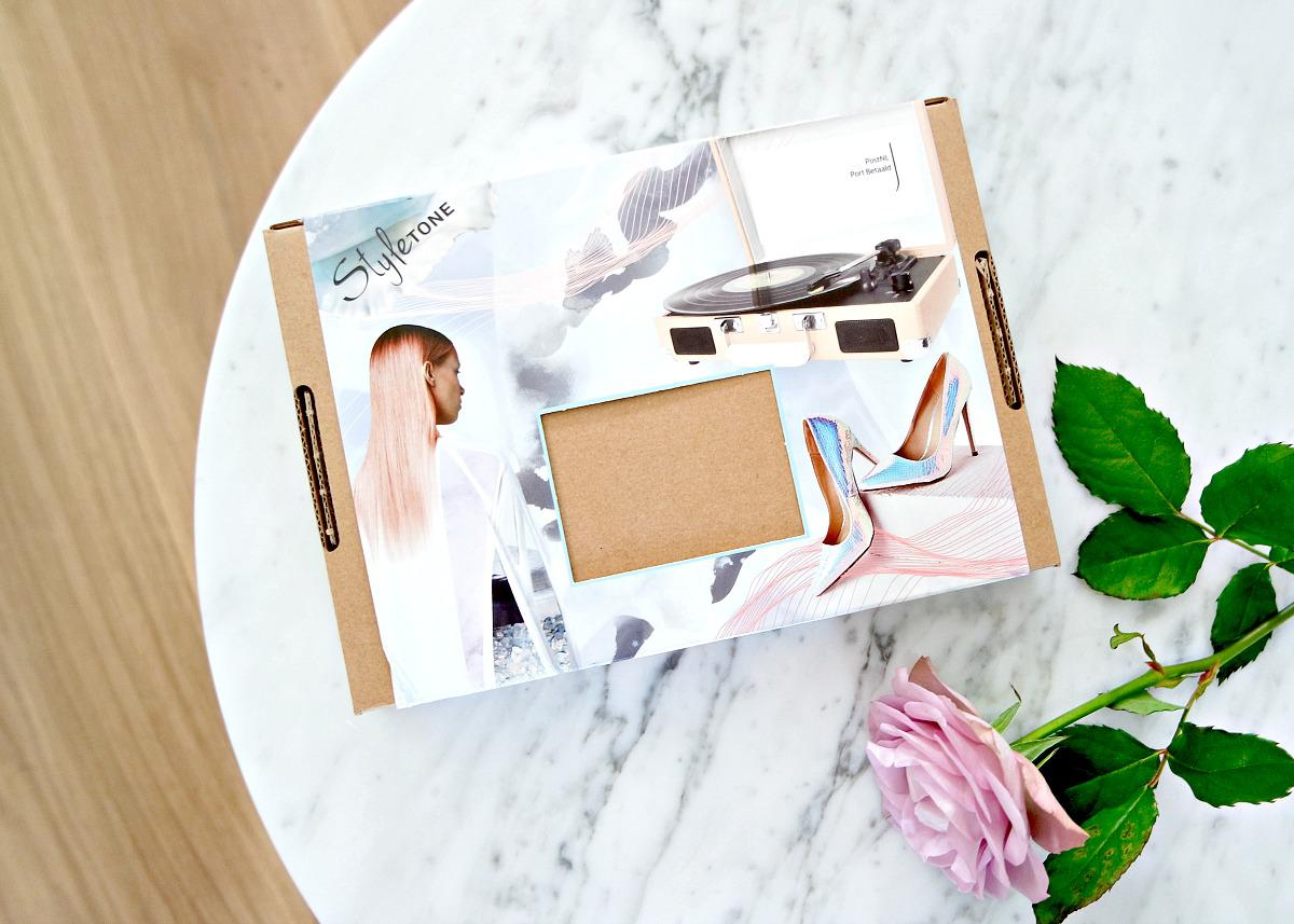 unboxing styletone box juni review a swatches