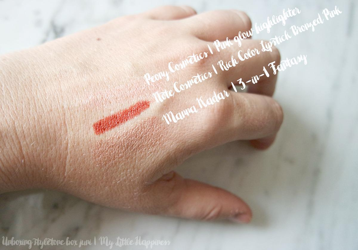 Swatches styletone box juni 2016
