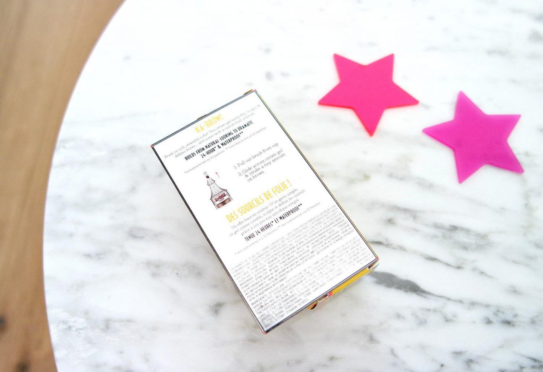 Benefit Ka-Brow! Review achterkant verpakking