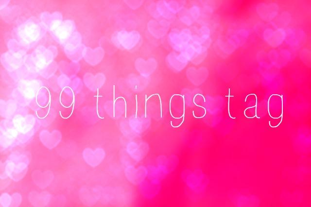 99 things tag