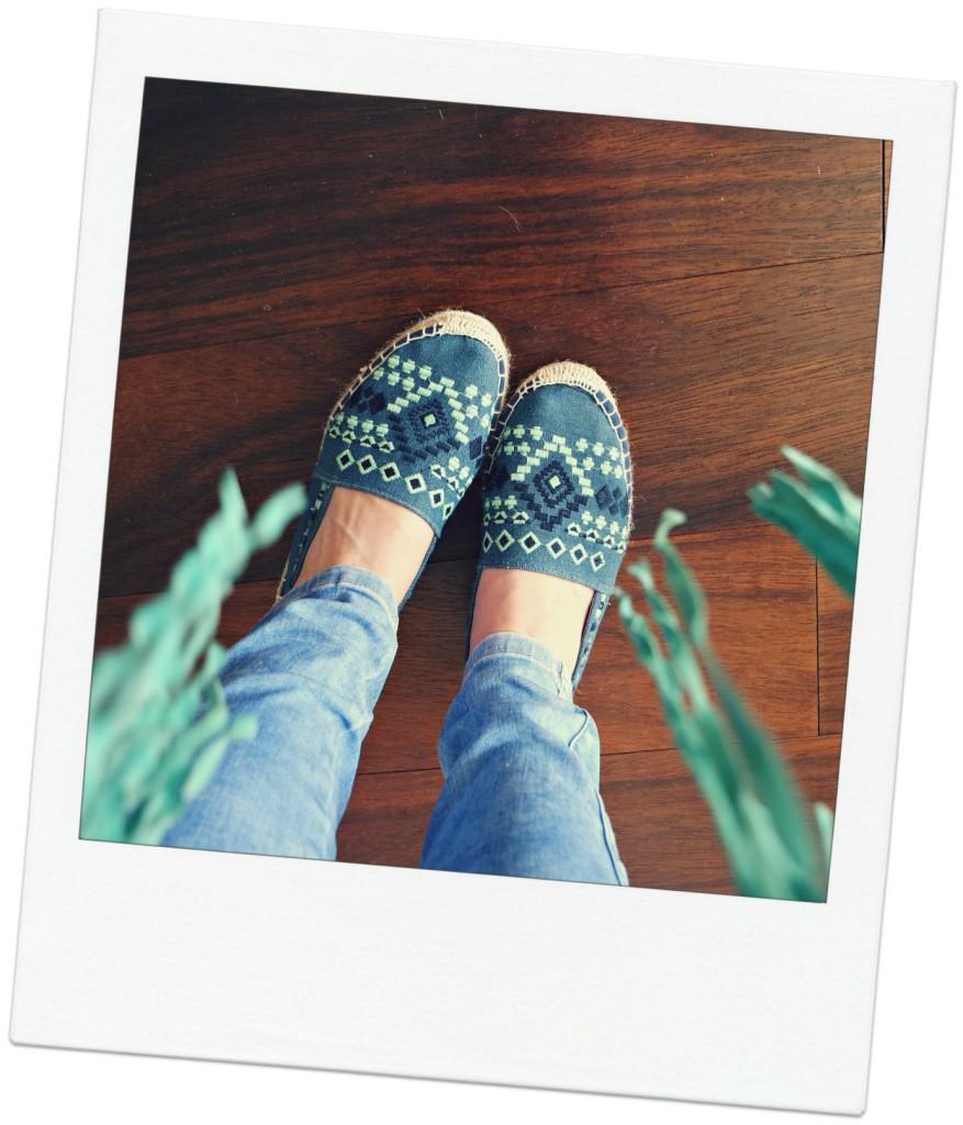 Outfit |Franjes, jeans en espadrilles