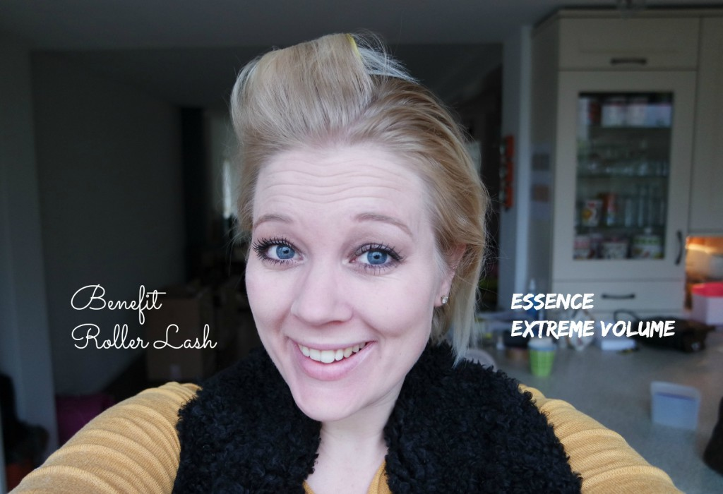Roller Lash mascara VS Essence Volume mascara | review & vergelijk
