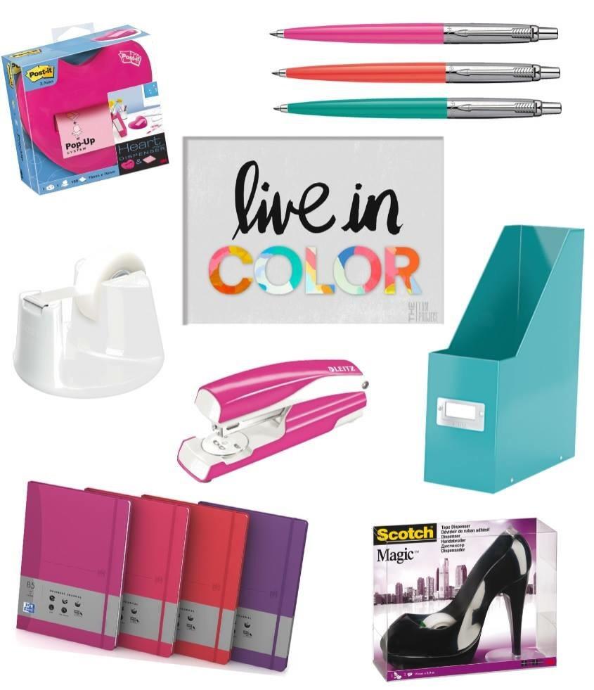 De kleurrijkste kantoorartikelen | maandag collagedag