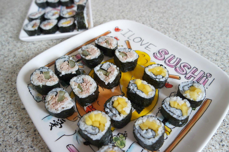 Zelf sushi maken is zo moeilijk nog niet!
