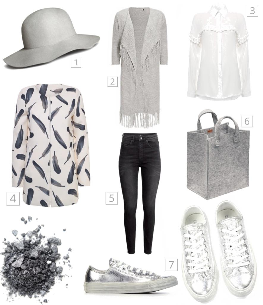 Outfit in 50 tinten grijs | maandag collagedag