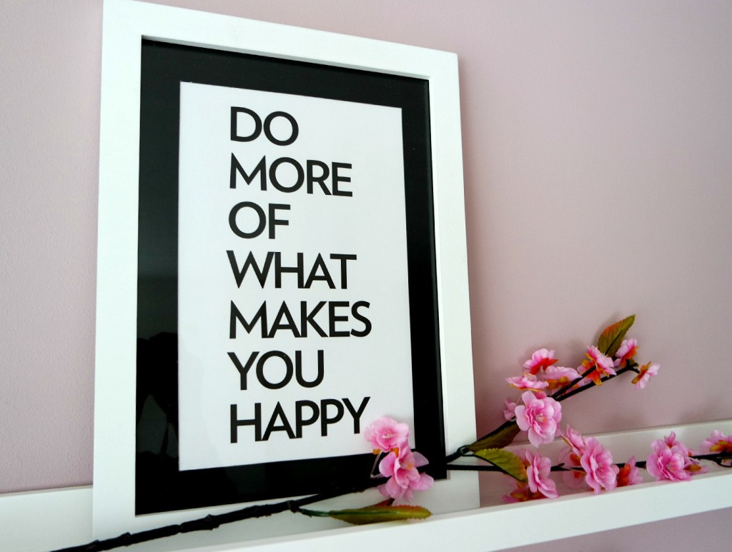 Do more of what makes you happy | Winactie !
