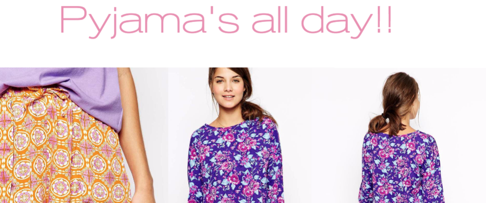 Pyjama's all day! | Maandag collage dag