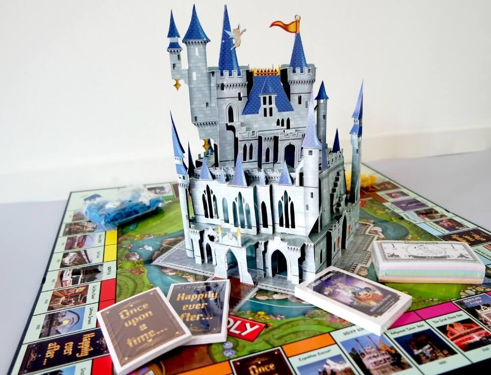 Monopoly Disney met kasteel Amerika