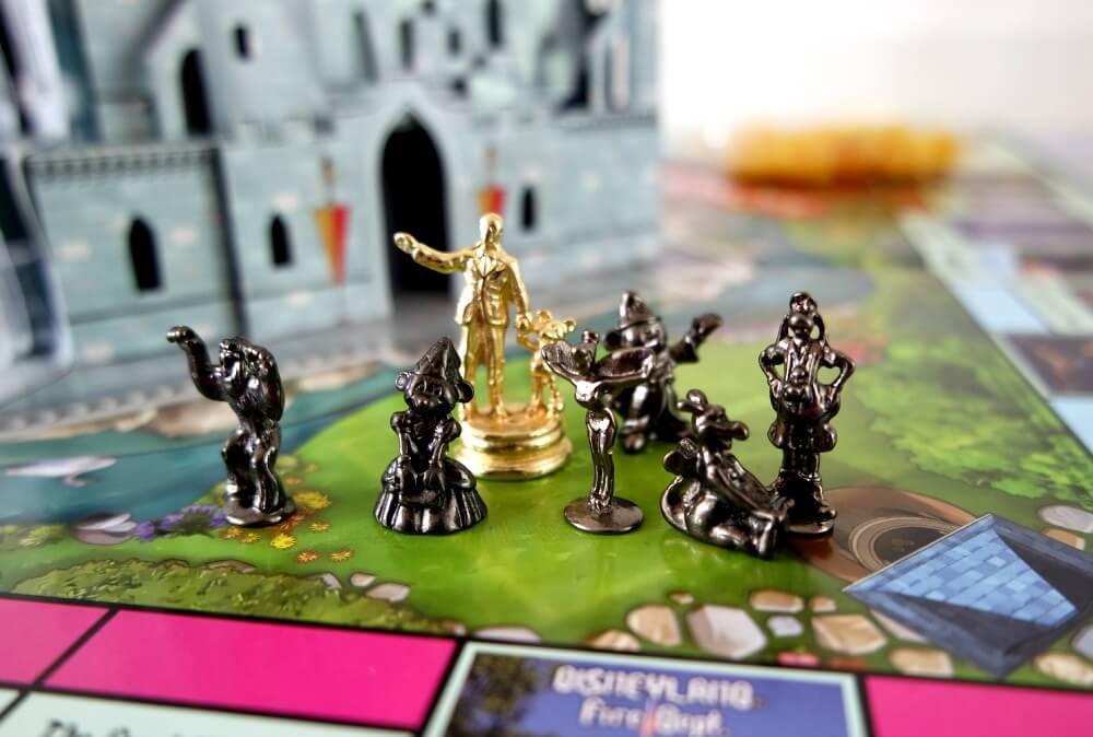 Monopoly Disney kasteelAmerika