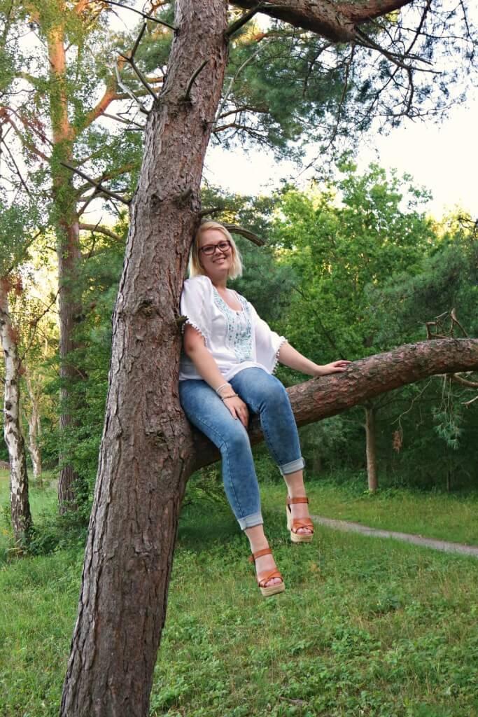 Outfit| Met een zomerse boho tuniek de boom in!