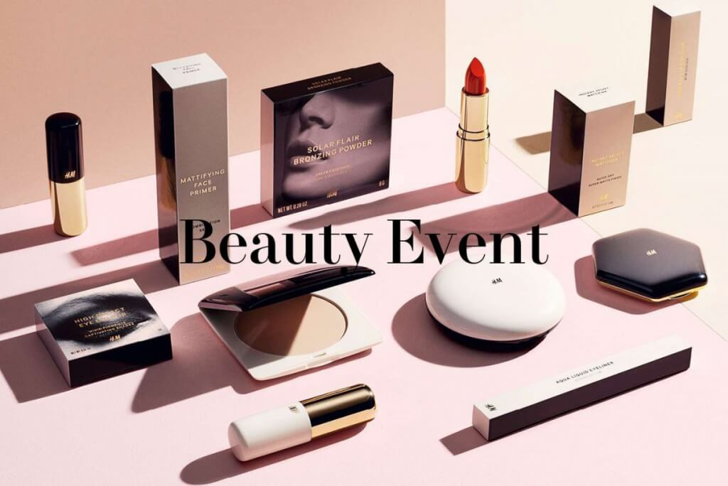 Beauty event by H&M, introductie van de nieuwe beauty producten!