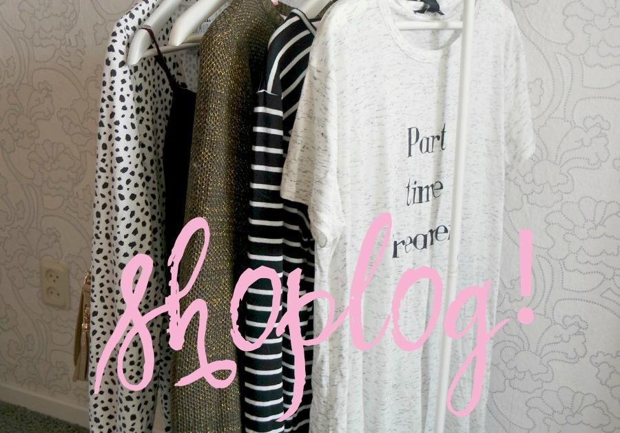 Shoplog november