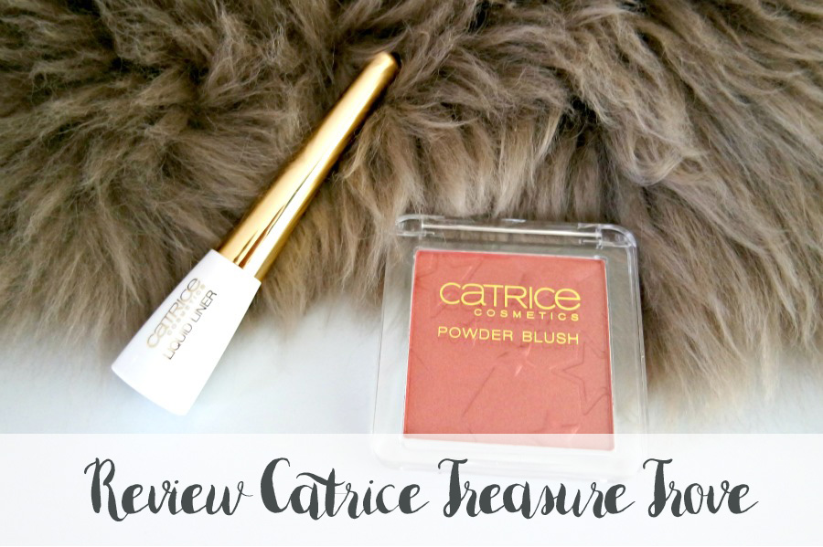 Catrice Treasure Trove blush & eyeliner review