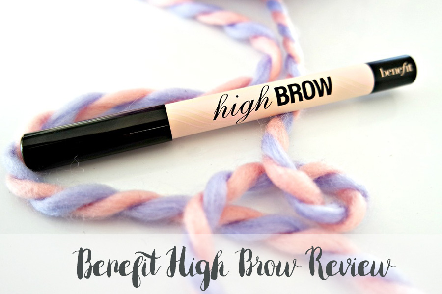 Benefit High Brow eyebrow highlighter review