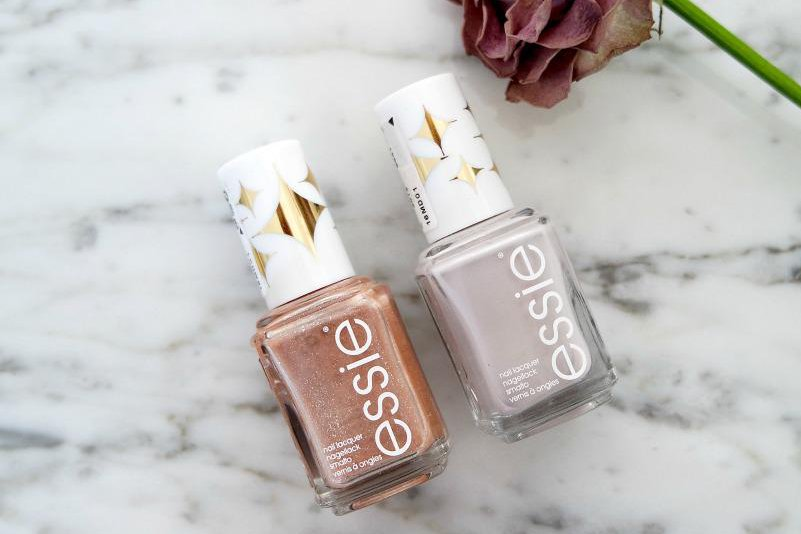 Review Essie Retro Revival collectie | Essie Sequin Sash & Essie Cabana Boy