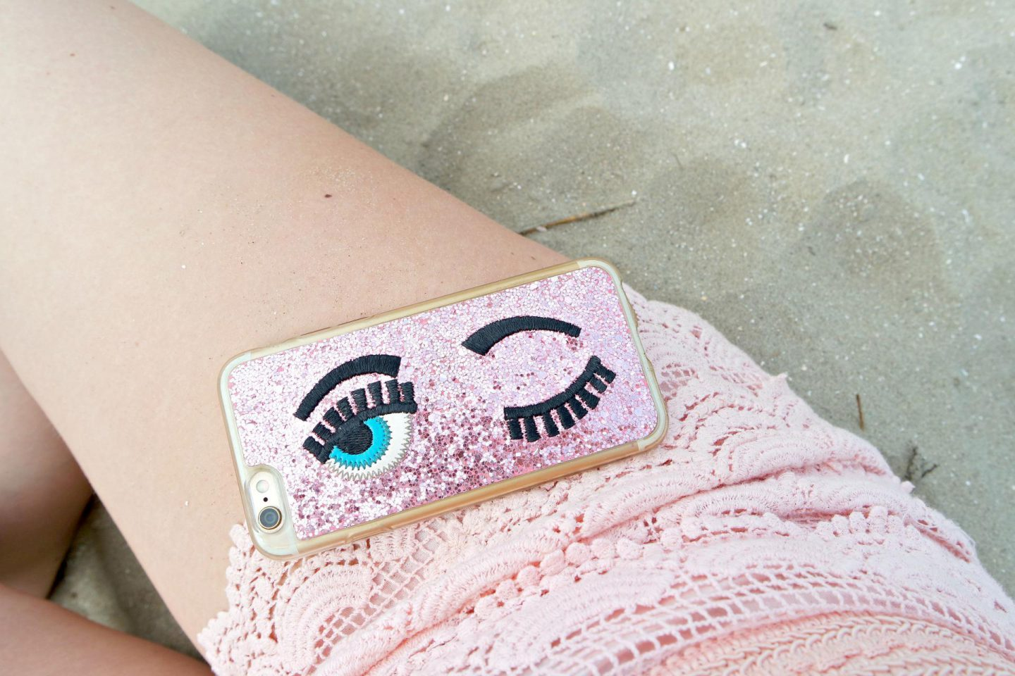 Outfit | Pastels at the Beach | details 1