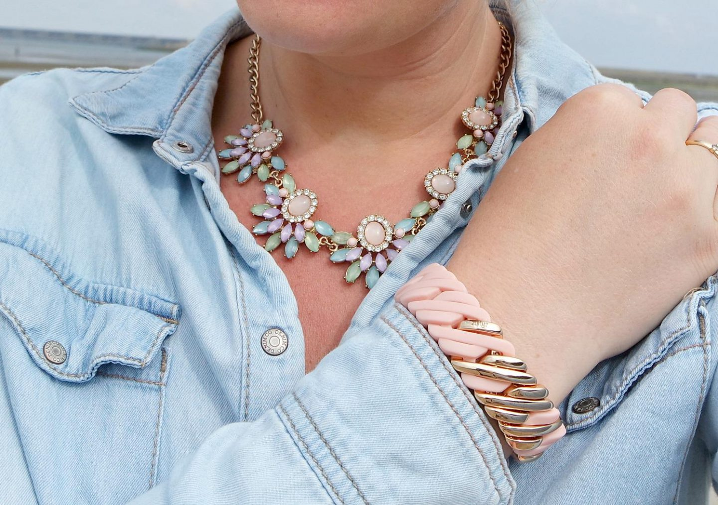Outfit | Pastels at the Beach | details