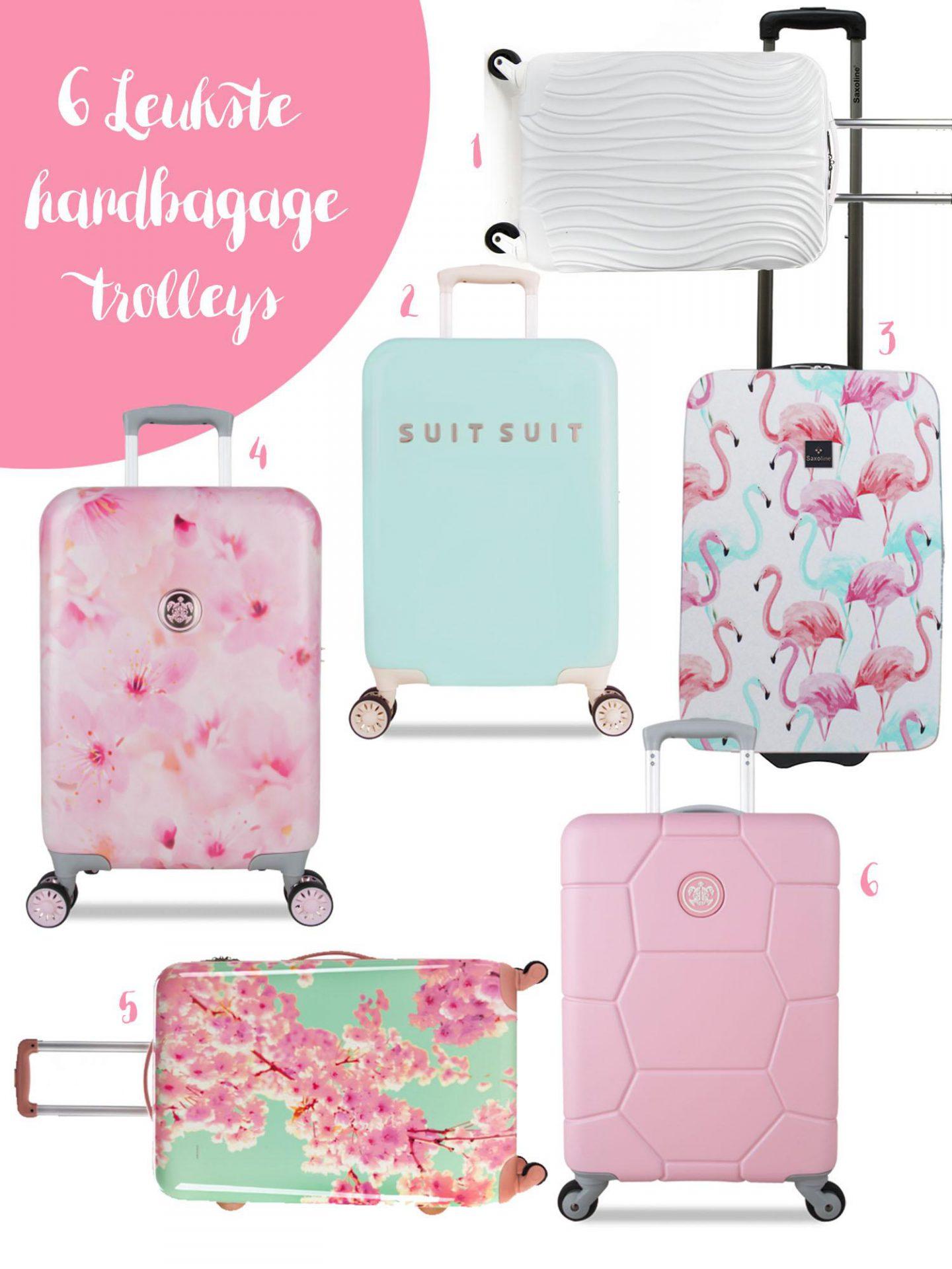 De 6 leukste handbagage trolleys