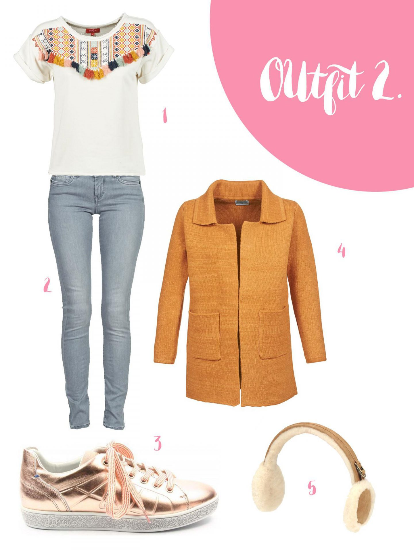 Outfit 2 - outfit inspiratie sale Spartoo