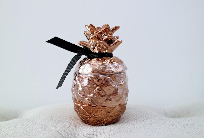 Primark shoplog | bronzen ananaskaars