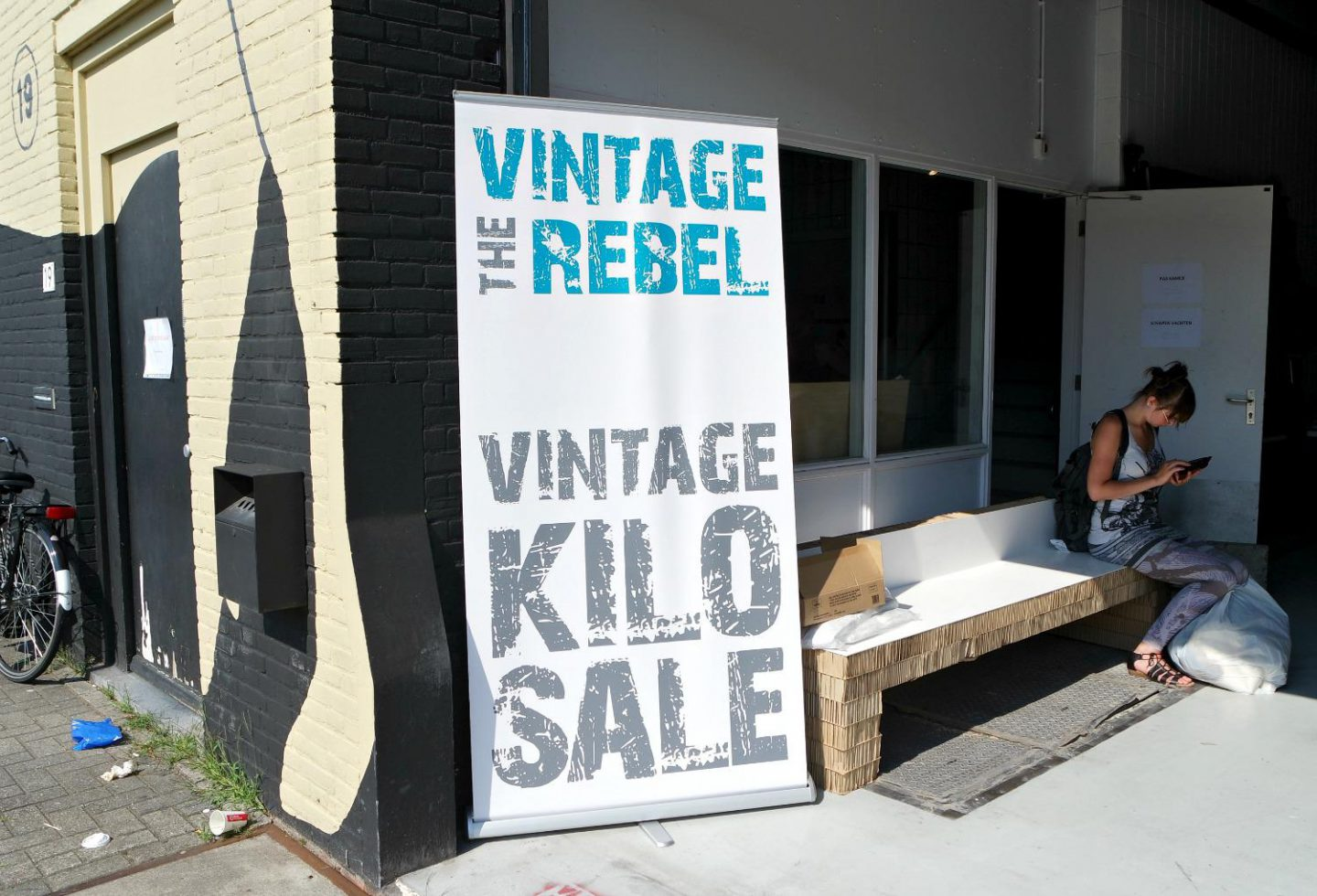 Vintage Kilo Sale bij The Vintage Rebel