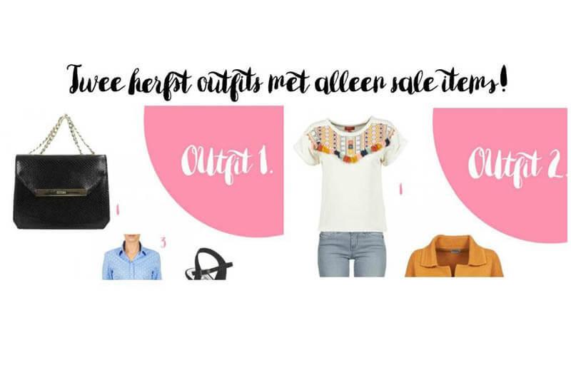 Outfit inspiratie | Twee herfstlooks met alleen sale items