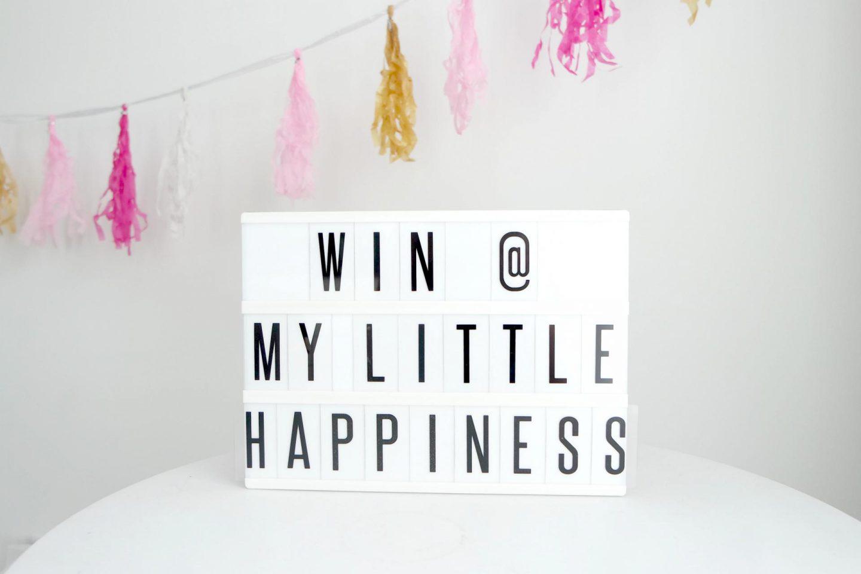 win 25 euor shoptegoed cadeau bij My Little Happiness