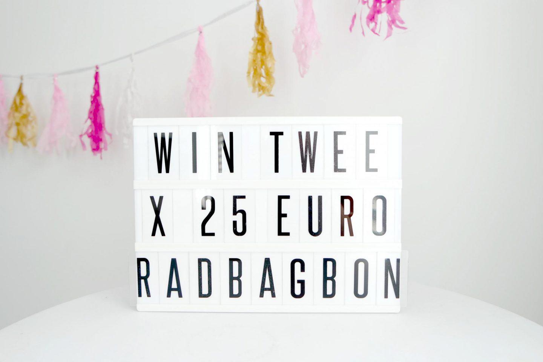 Wie jarig is trakteert! | WIN 2 x € 25,00 shoptegoed voor een origineel cadeau van Radbag